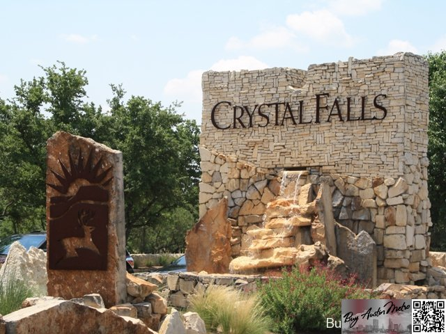 Crystal falls leander homes for sale leander homes for for Crystal falls
